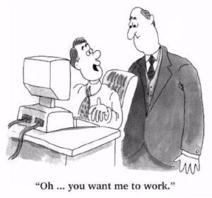 office politics image